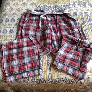 Abercrombie &Fitch PJ pants. Size Medium. Plaid.